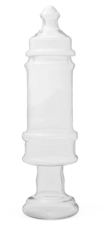 Romanesque Glass Jar