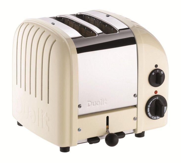 2-Slice NewGen Toaster, White