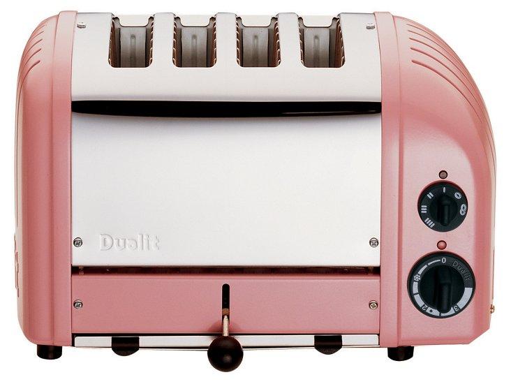 4-Slice NewGen Toaster, Rose