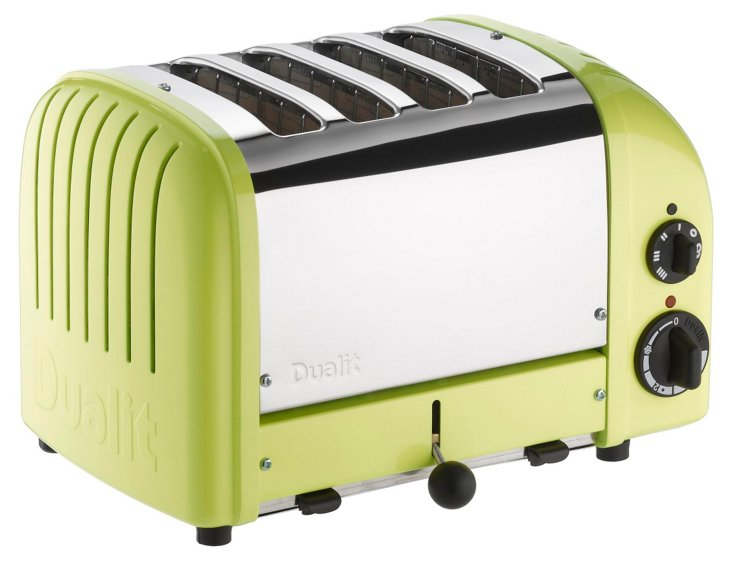 4-Slice NewGen Toaster, Green