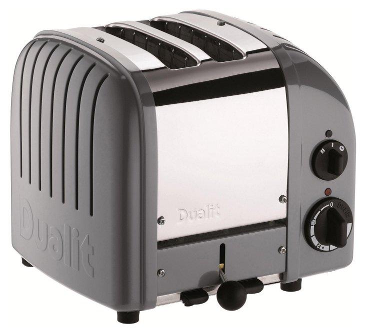 2-Slice NewGen Toaster, Gray