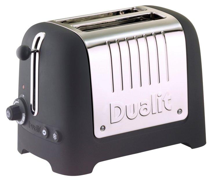 2-Slice Lite Toaster, Black