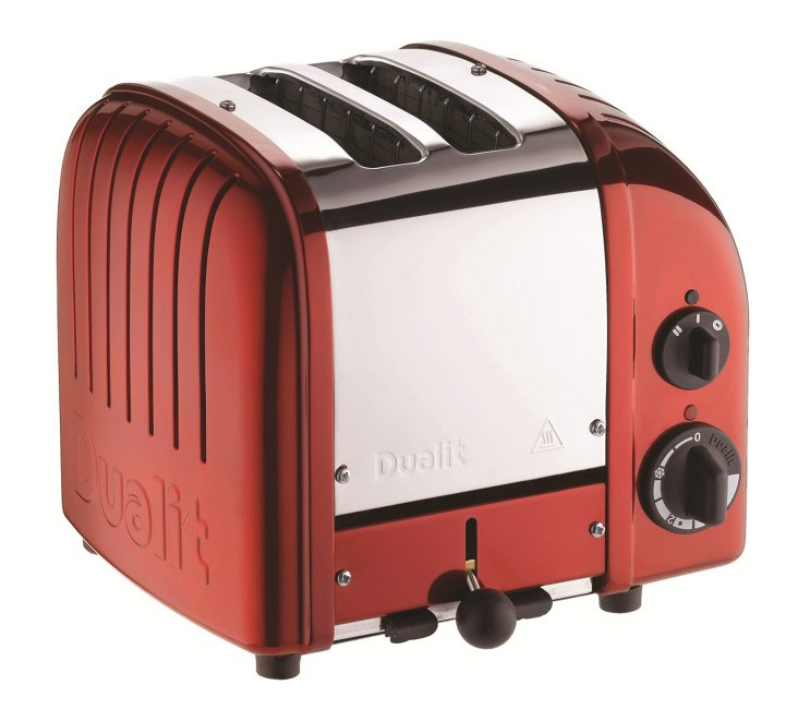 2-Slice NewGen Toaster, Red