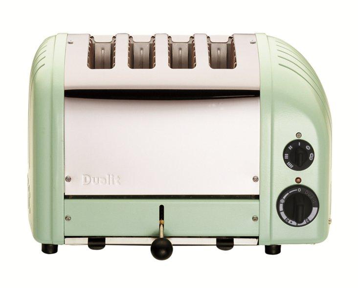 4-Slice Toaster, Mint Green