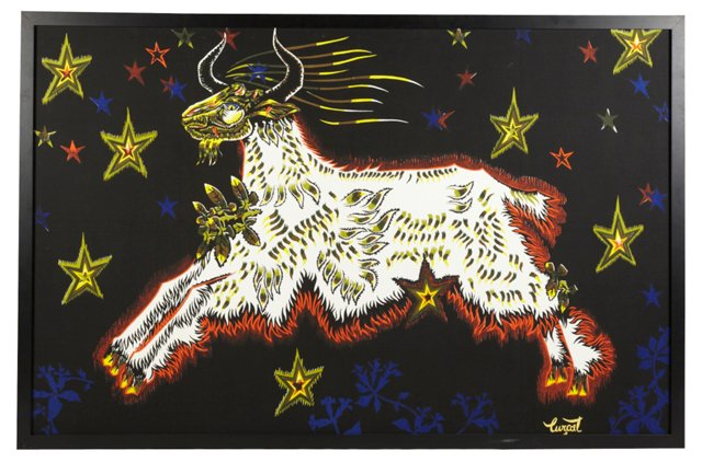 Framed Tapestry by Jean Lurçat