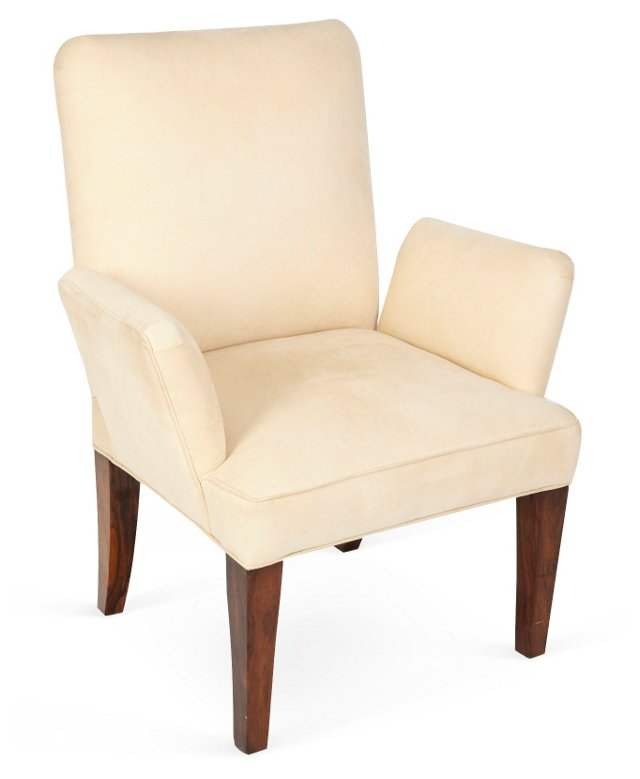 Ultrasuede Occasional Chair