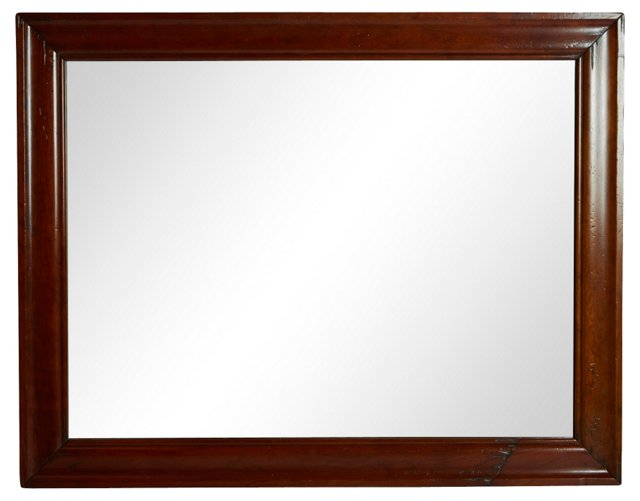 English Wood Mirror