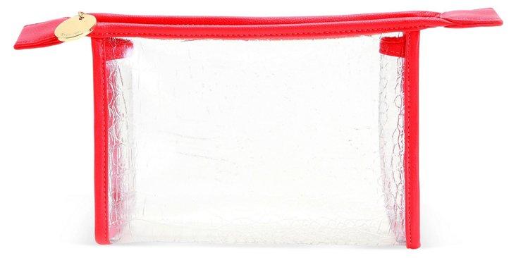 Mykonos Cosmetic Case, Red