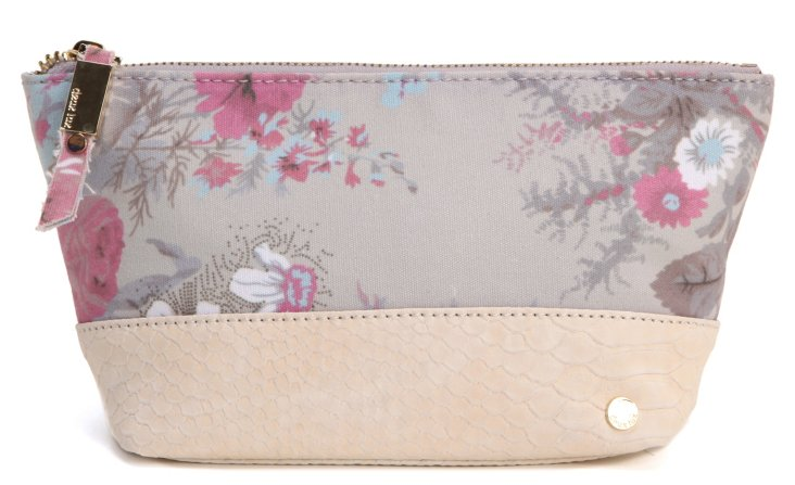 Lana Cosmetic Case, White