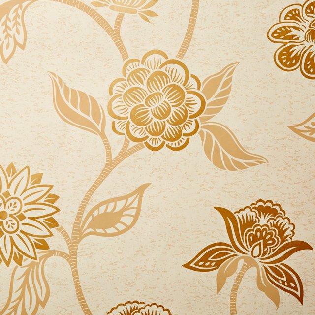 Mazu Wallpaper, Beige