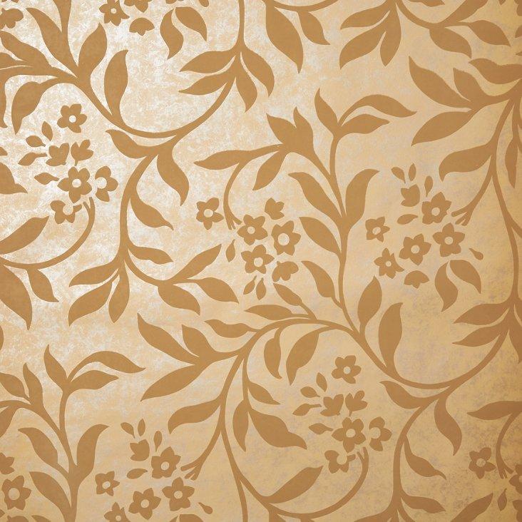 Sabrina Wallpaper, Gold