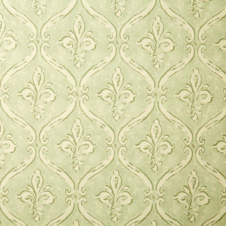 Cole Wallpaper, Olive