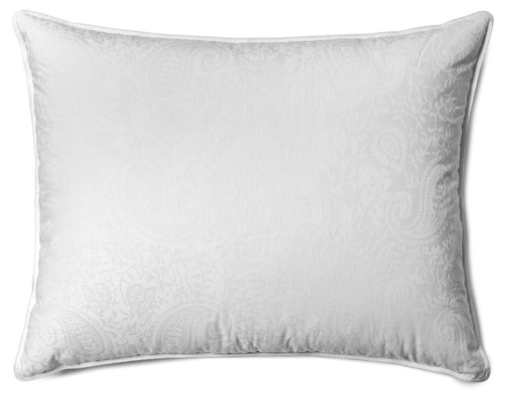 Alt Fill Paisley Pillow, Medium