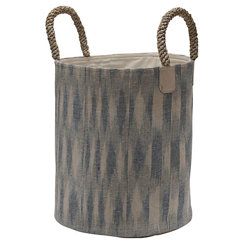 Pacific Laundry Basket, Ikat