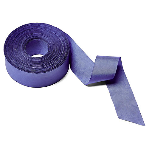 """1.5"""" Solid/Wrinkled Ribbon, Periwinkle"""