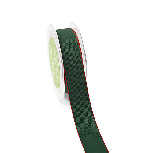 Solid Ribbon, Green/Red
