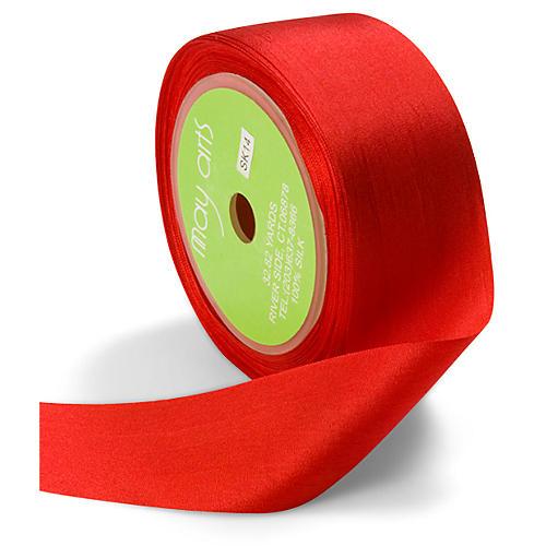 Silk Ribbon, Red