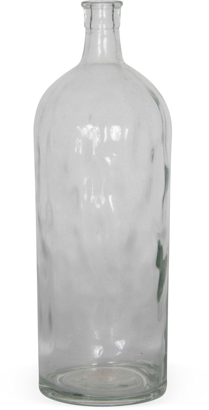 Handblown Glass Bottle