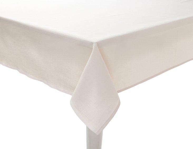 Granite Pebble Tablecloth, Champagne