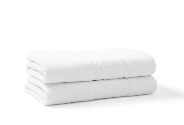 S/2 Hotel Fer Forge Terry Hand Towels