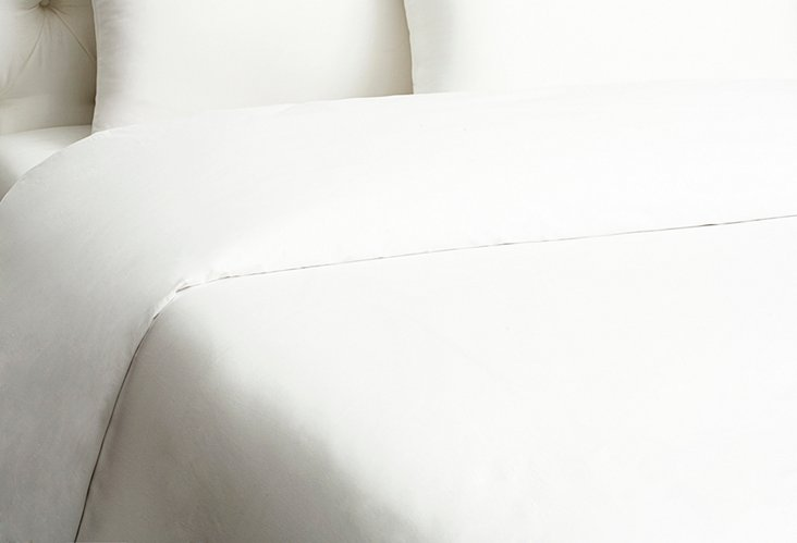 King Hotel Morgans Duvet, White