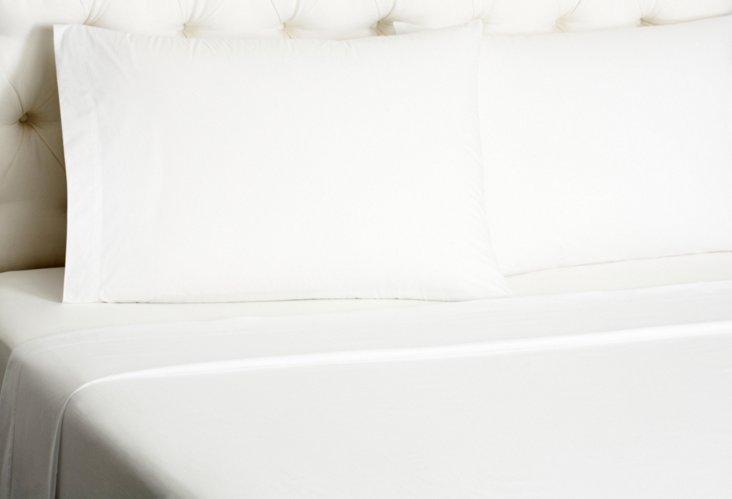 Queen Hotel St Tropez Bed Set, White
