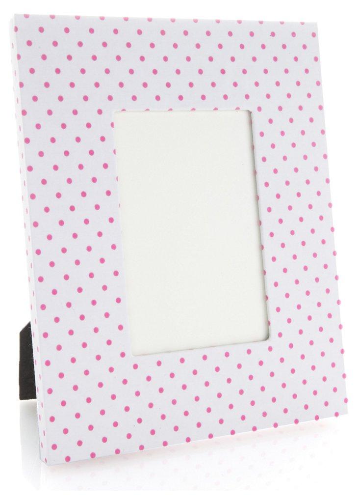 "4"" x 6"" Frame, Pink Mini Confettis"