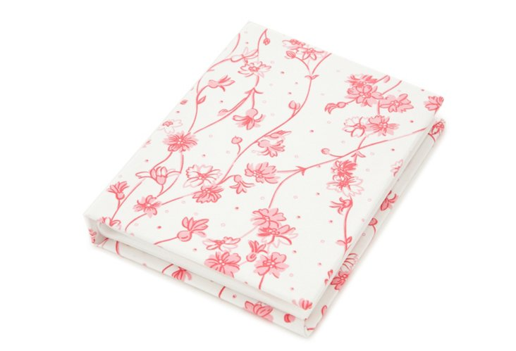"4"" x 6"" Photo Album, Fleurettes Pink"