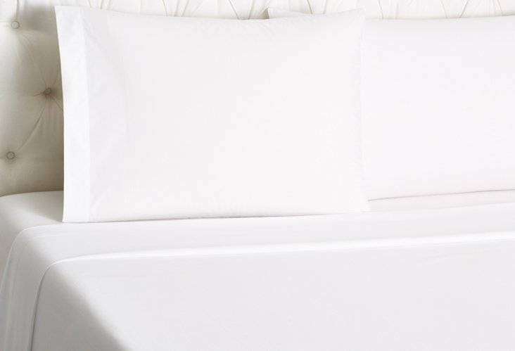 Hotel Cannes Bed Set, White