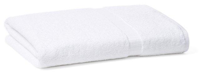 Madeleine Bath Towel, White