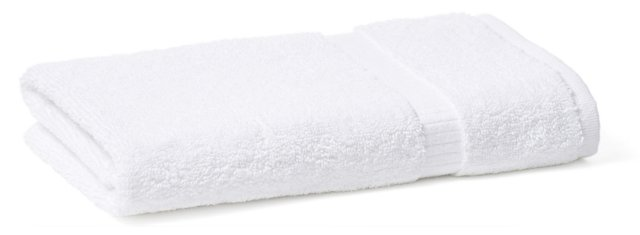 S/4 Madeline Washcloths, White