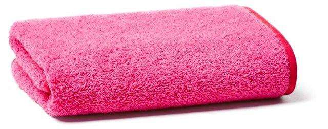 Hand Towel, Fuschia/Red