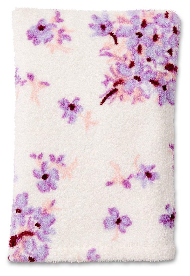 Violettes Bath Mitt, Lilac