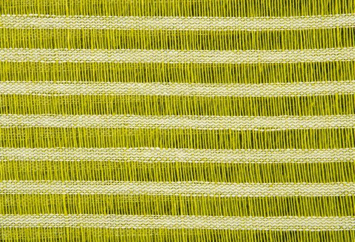 Green-Striped Linen, 1.25 Yds.