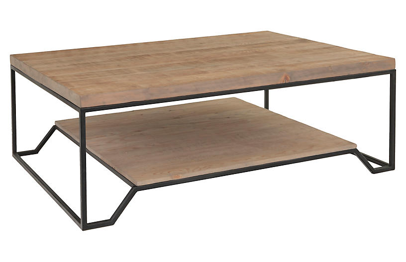 Evans Coffee Table, Natural