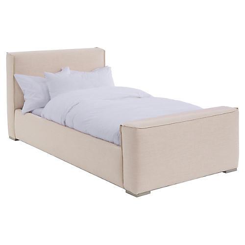 Layden Kids' Bed, Blush Linen