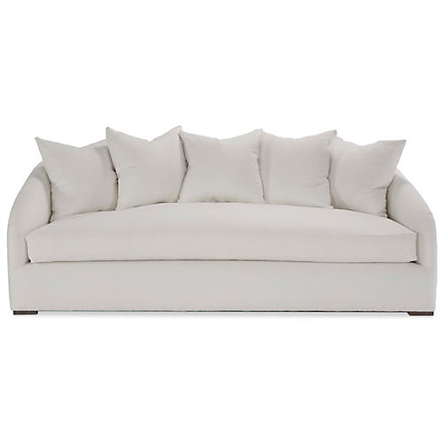 Reilly Sofa, Ivory Linen