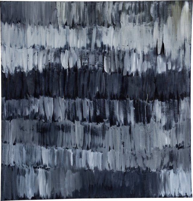 Black Bachman Abstract Painting IV