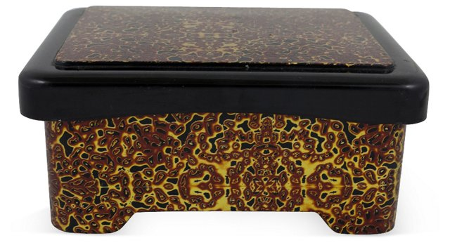 Lacquered Asian Box