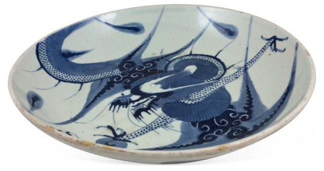 Ceramic Dragon Bowl