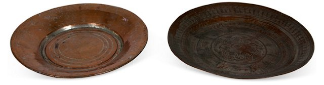 Turkish Platters, Pair