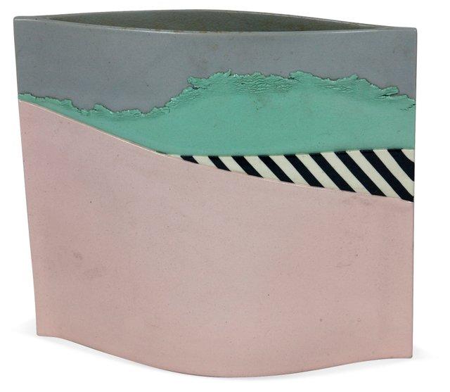 1980s Studio Pottery Vessel