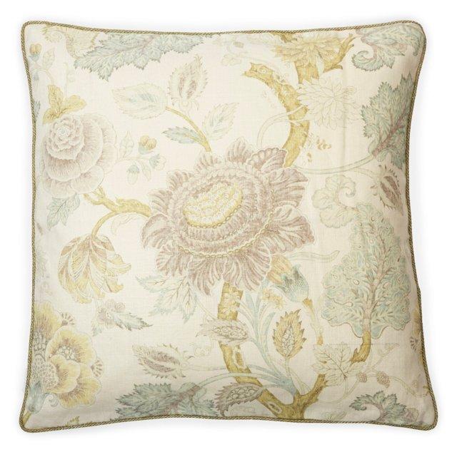 Jacobean-Print Pillow I
