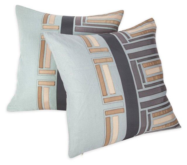 Uptown Pillow, Pair