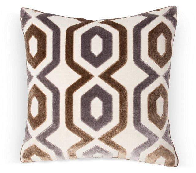 Mirella Cut Echo Pillow