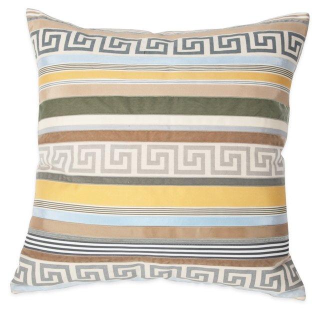 Trident Stripe Pillow
