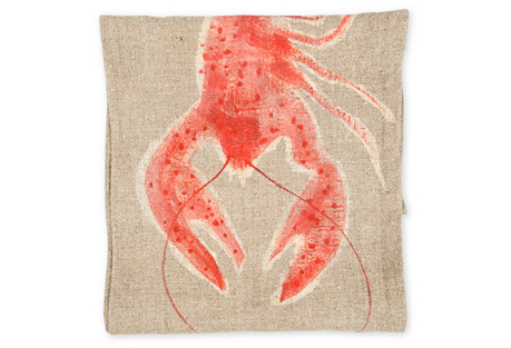 Hand-Painted Lobster Runner, 1'4