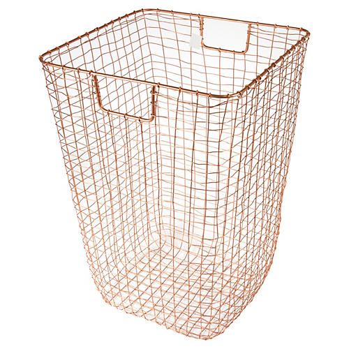 "25"" Bosworth Hamper, Copper"