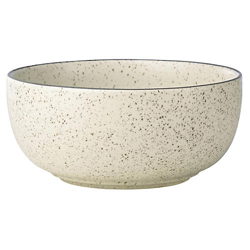 Kallan Serving Bowl, Cream
