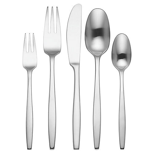 5-Pc Variation V Place Setting, Silver